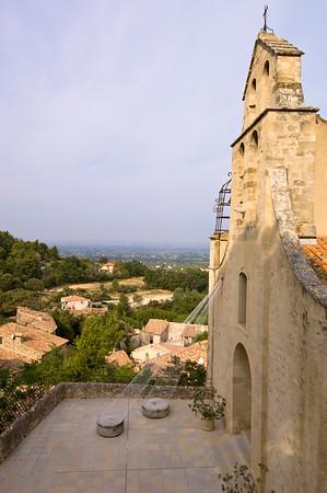 Europe, France, Provence, Gigondas, parish church