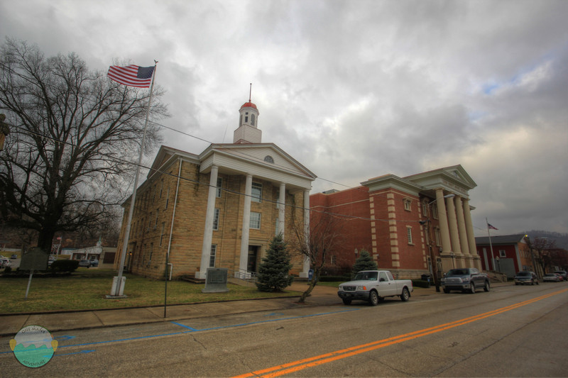 Lewis County<br /> The courthouse and judical center.