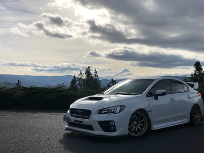 Jose's  2015 Subaru STi Limited on 18x9.5 Rota DPT