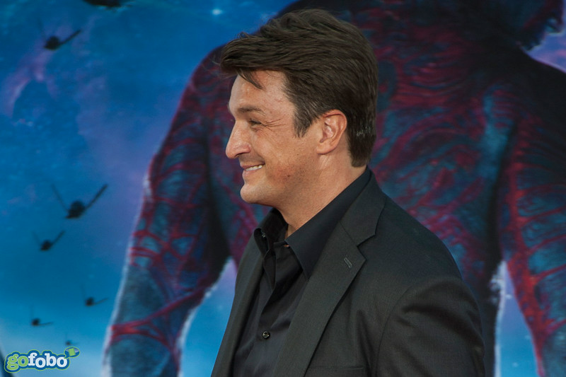 HOLLYWOOD, CA - JULY 21: Actor Nathan Fillion attends Marvel's 'Guardians Of The Galaxy' Los Angeles Premiere at the Dolby Theatre on Monday July 21, 2014 in Hollywood, California. (Photo by Tom Sorensen/Moovieboy Pictures)