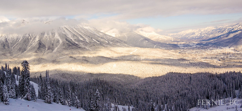 Winter in Fernie, British Columbia