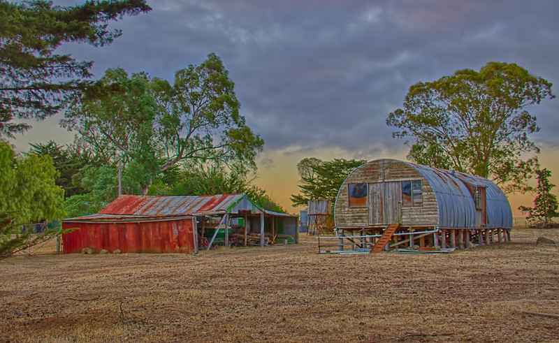 Aussie farm sheds