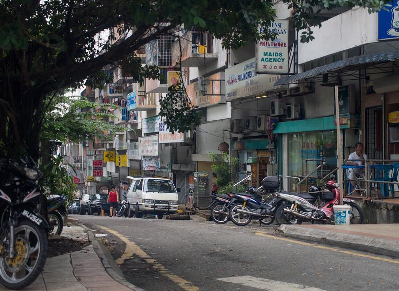 Multi-layered streets, Cheras