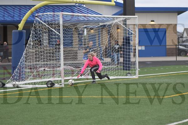 Newton Girls Soccer vs. Bondurant-Farrar 5-28-21