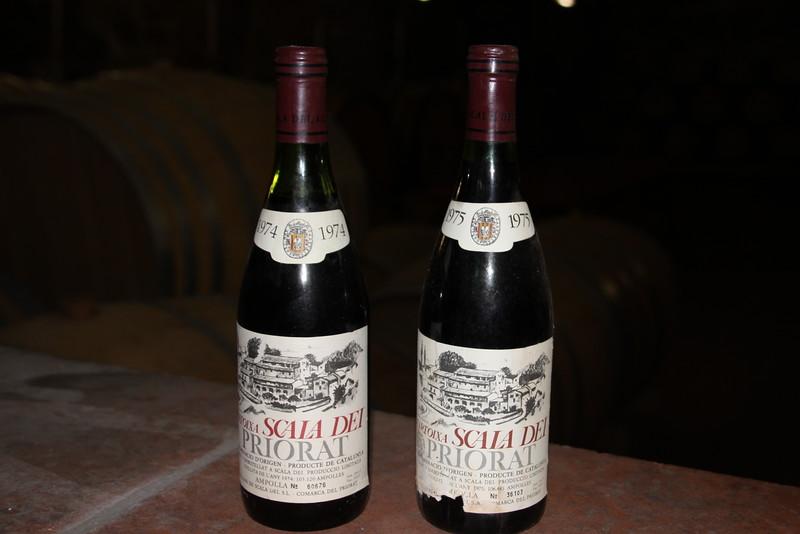 Oldest wine in Priorat
