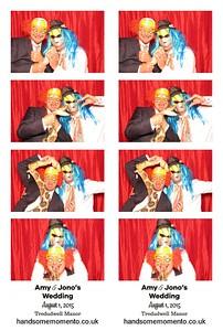 Amy & Jono's Wedding at The Tredudwell Manor, Fowey 01-08-15