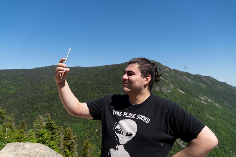 2020 Mt Willard with Josh