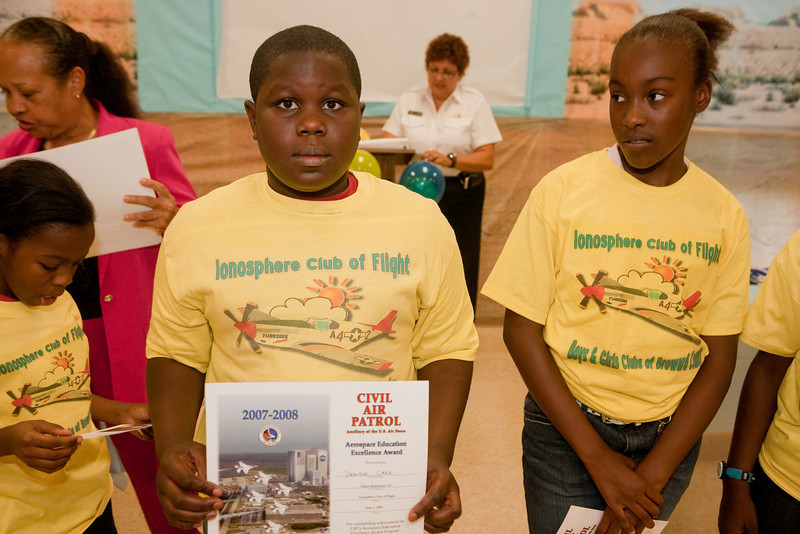 2008-2009 Ionosphere Club of Flight Ceremony