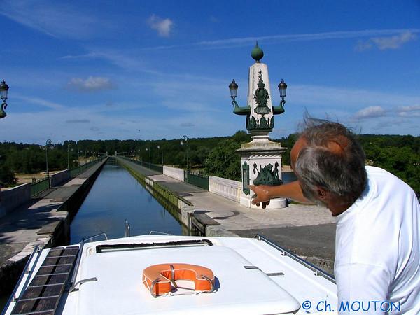 Navigation canal de Briare