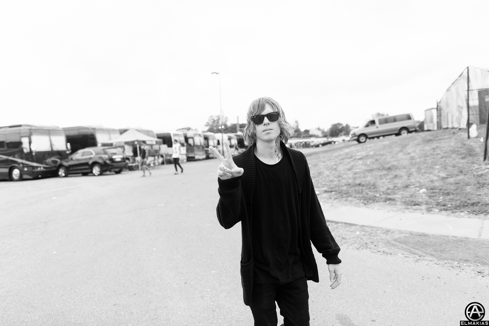Alan Ashby of Of Mice & Men heading to do an interview