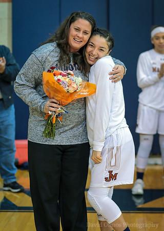 Girls Basketball Teacher Appreciation Night