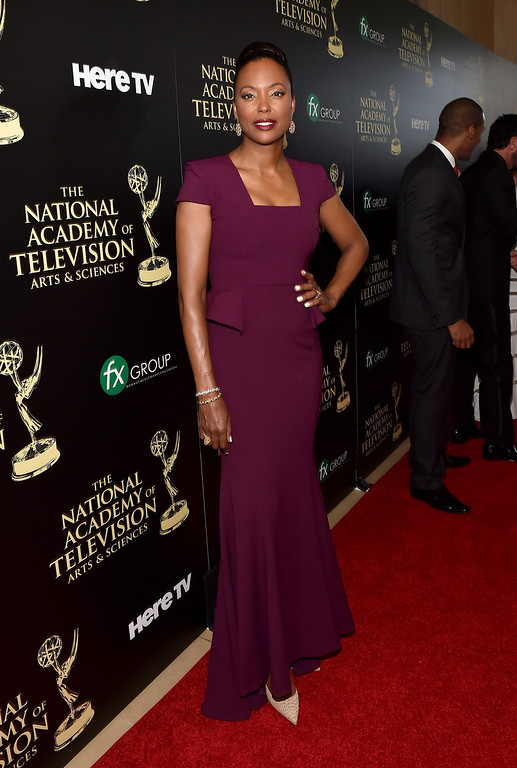 . Actress Aisha Tyler attends The 41st Annual Daytime Emmy Awards at The Beverly Hilton Hotel on June 22, 2014 in Beverly Hills, California.  (Photo by Alberto E. Rodriguez/Getty Images for NATAS)