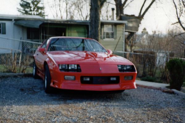 April 1994:  The new Camaro Z28 .  .  .