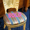 Seashell Whitewashed Accent Chair