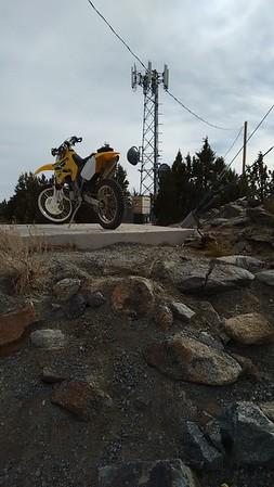 Warm Springs Mtn. dirt bike ride