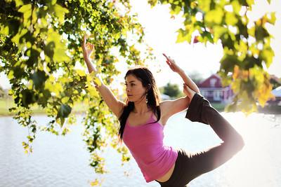 Jessi Hughes Fall Yoga