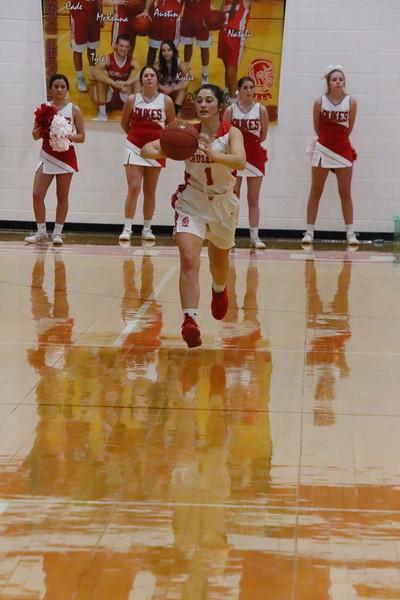 WHS Girls Basketball vs Buhler  020420