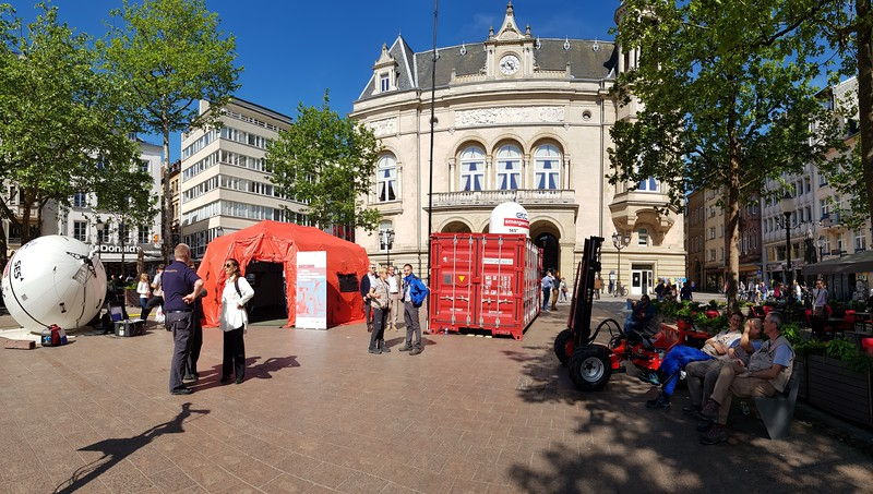ETC Open Day 2018. Luxembourg City, Luxembourg. Photo: WFP / Katarzyna Chojnacka