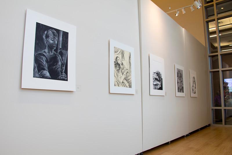 Taylor Alexander Art Show Reception