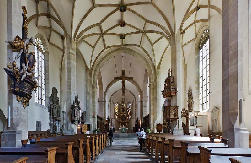 Merseburg, Dom, Blick in Richtung Chor