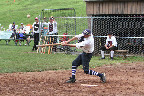 1861 Vintage Baseball: Nutmeg BBC at Billy Barnies Blue Boys