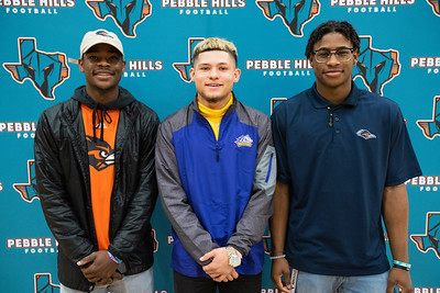 Pebble Hills National Signing Day