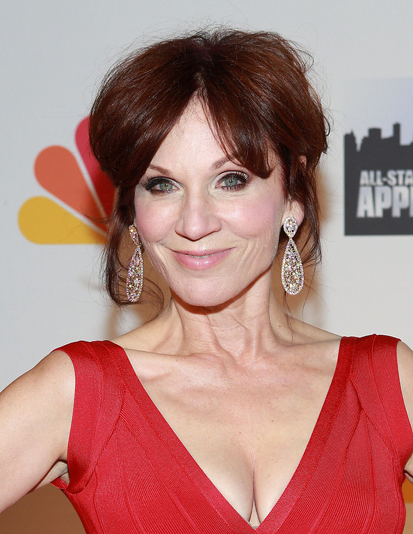 """. Actress Marilu Henner attends \""""All Star Celebrity Apprentice\"""" Finale at Cipriani 42nd Street on May 19, 2013 in New York City.  (Photo by Robin Marchant/Getty Images)"""