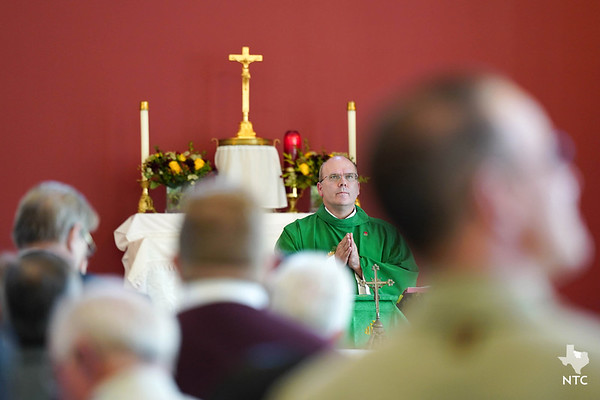First Mass celebrated in new St. John Paul II Church