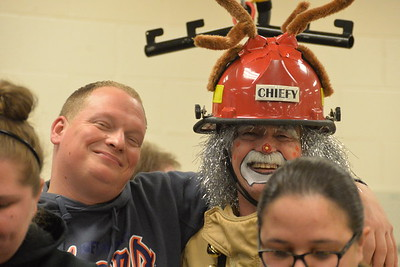 Dearborn Firefighters Burn Drive Toy Run 2016