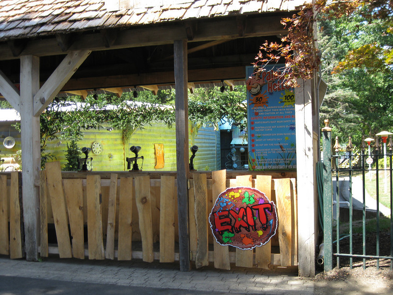 Paintball Hollow had new signage.