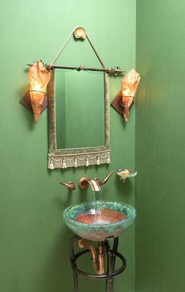 Colts Neck House, Guest Bath