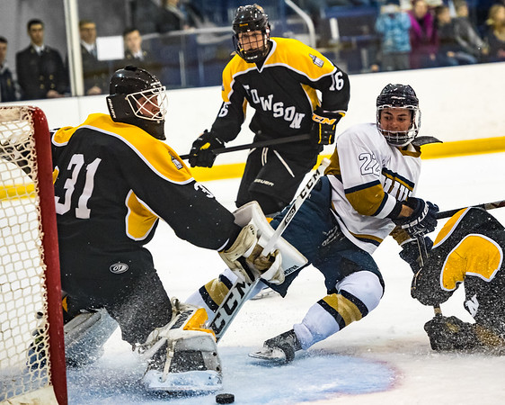 2017-02-11 NAVY Men's Ice Hockey vs Towson University - 40th Annual Crab Pot Tournament