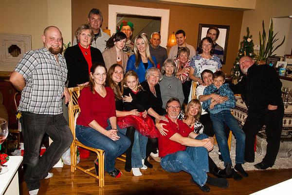 Hayden/McNorton Family Xmas 2013