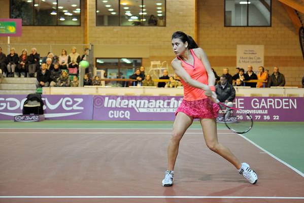 Open feminin de Tennis du Touquet 2011 Demi-finales