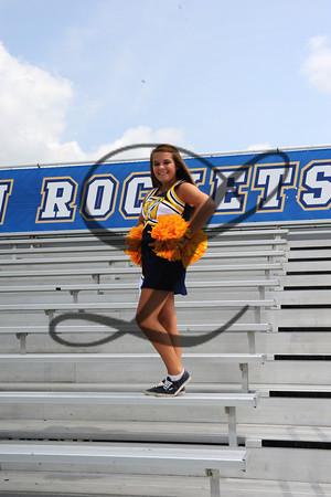 WHS Cheerleaders Fall 2013-2014