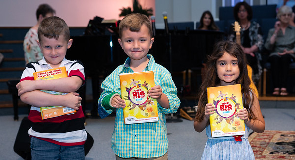 First Grade Bible dedication 2019