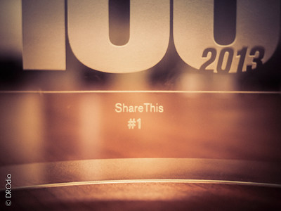 2013-10: ShareThis Fast 100 #1 Fastest Growing Company