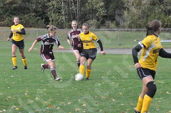 Girls: Ellsworth Vs. Bucksport: October 7, 2010