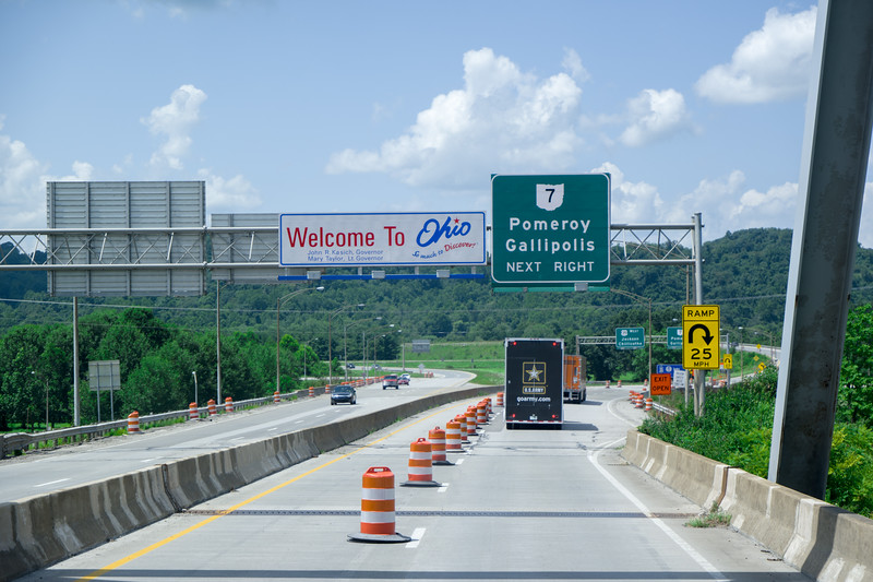 Into Ohio From WV US-35