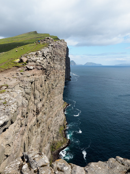 Trælanípa cliffs