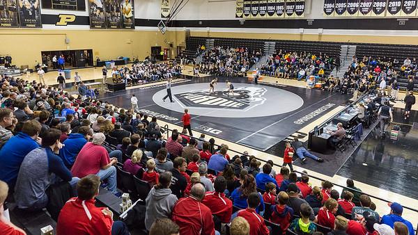 Purdue Wrestling vs Iowa 2016-11-27