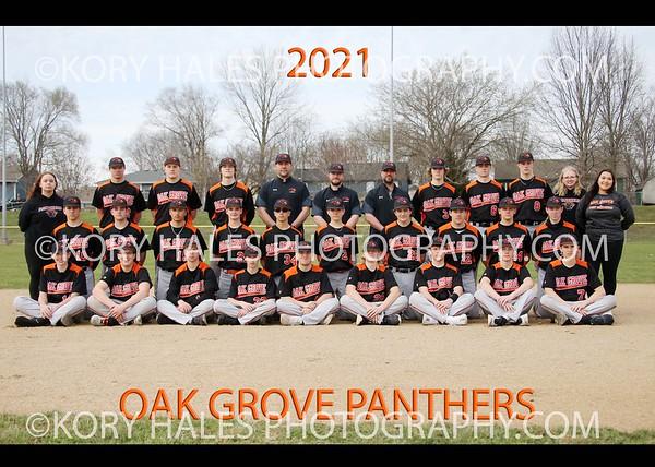 2021 OGHS Baseball