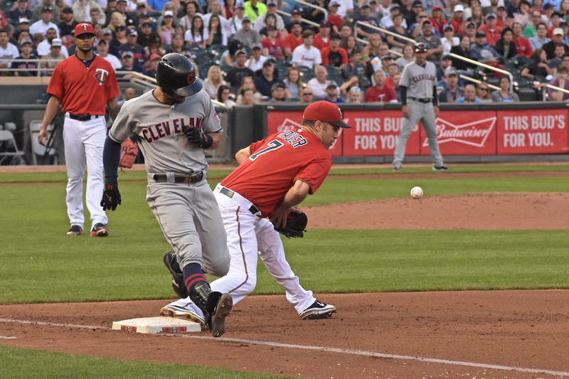 Mauer drops ball