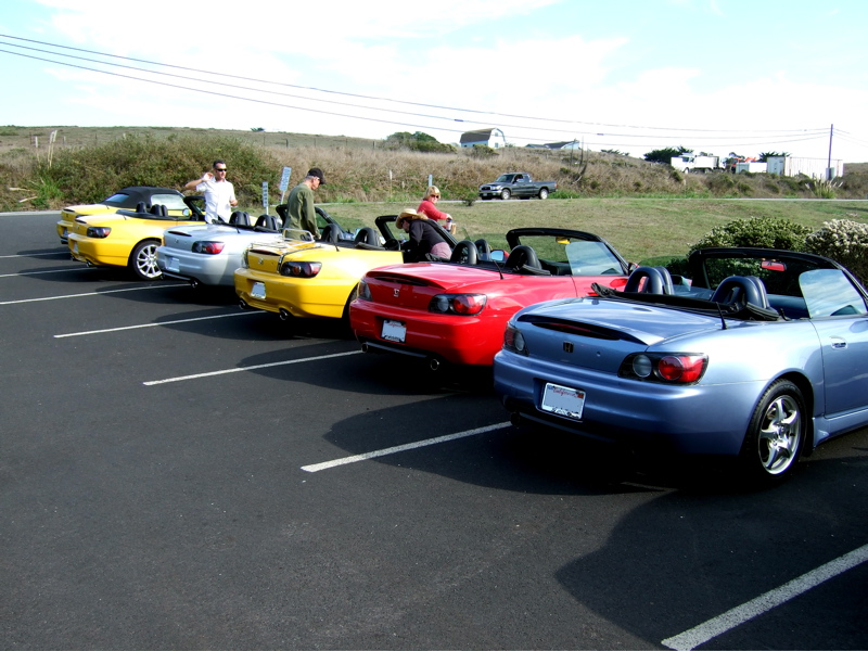 11/4 S2KCA drive - North Coast and Napa Valley