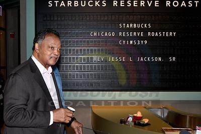 Rev. Jackson Book Signing Starbucks Roastery