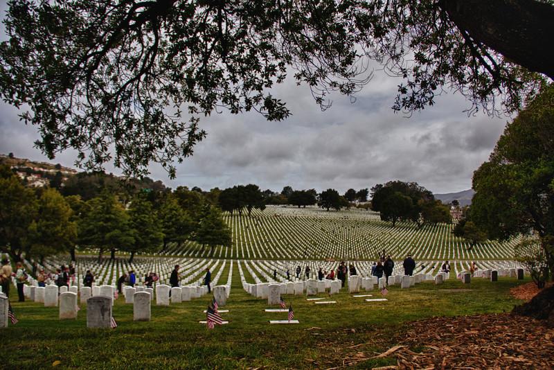 golden gate cemetery, memorial day