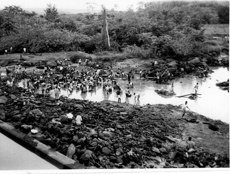 Limpeza da Barragem