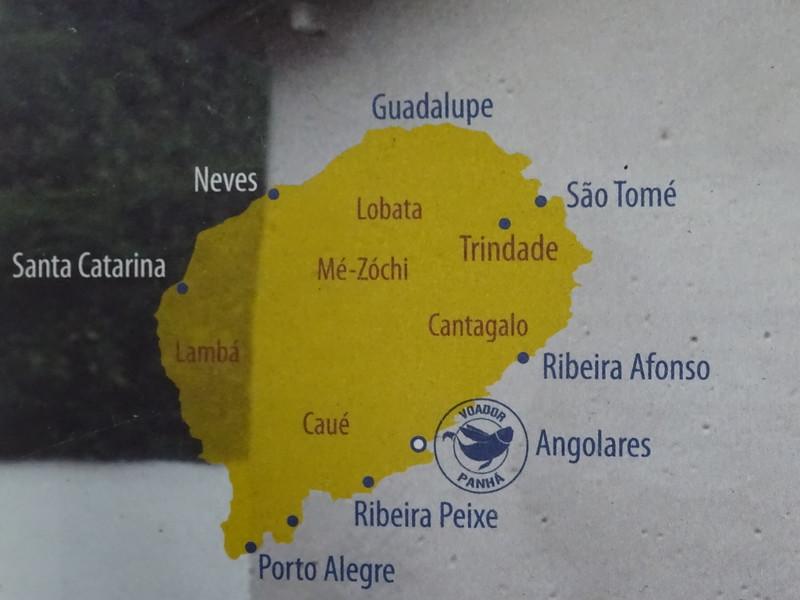 006_Sao Tome Island Map. Part of an extinct volcanic mountain range.JPG