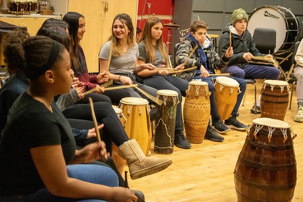 12.4.2019 MS African Drumming