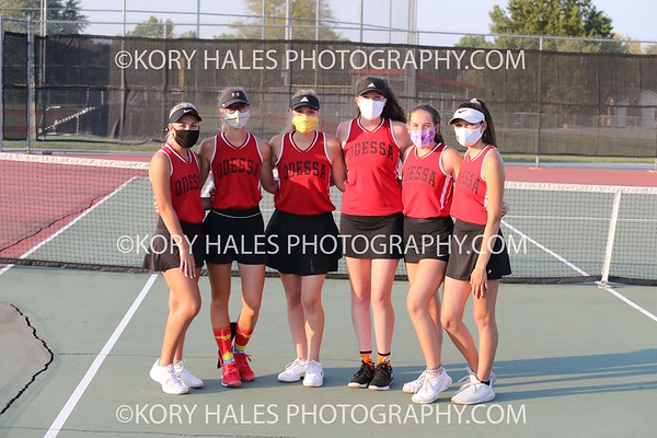 Varsity-Singles and Doubles State Sectional 10-9-20